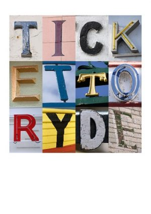 TICKET TO RYDE ALPHA ART