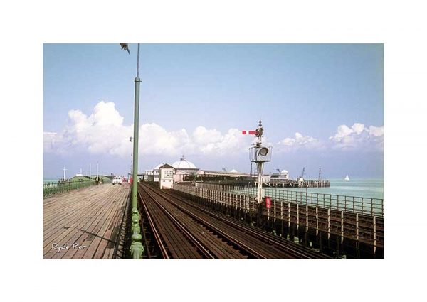 Vintage Photograph of Ryde Pier Isle Of Wight