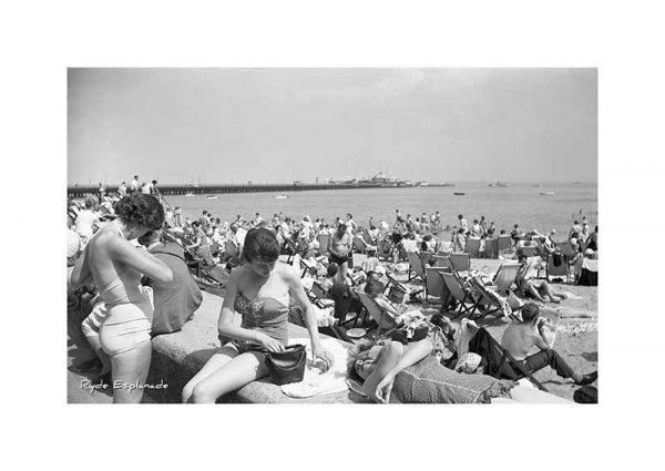 Vintage Photograph of Ryde esplanade Isle Of Wight