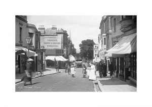 Vintage photograph Ryde High Street Isle Of Wight
