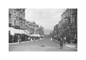 Vintage photograph Union Street Ryde Isle Of Wight