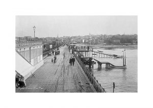 Vintage photograph Ryde From the Pier Isle Of Wight