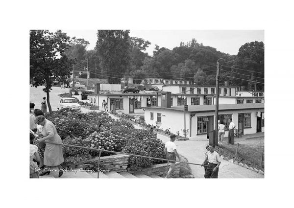Vintage photograph St.Clare Holiday Camp Ryde Isle Of Wight