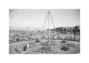 Vintage Photograph of Eastern Gardens Ryde Isle Of Wight