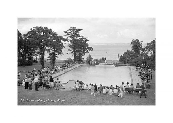Vintage photograph of St Clare Holiday Camp Ryde Isle Of Wight