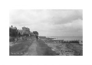 Vintage photograph of Spring Vale Isle Of Wight