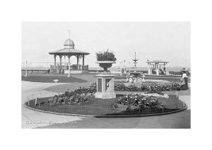 Vintage photograph western esplanade Ryde Isle Of Wight