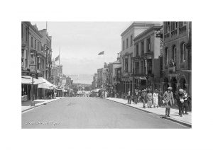 Vintage photograph of Union Street Ryde Isle Of Wight