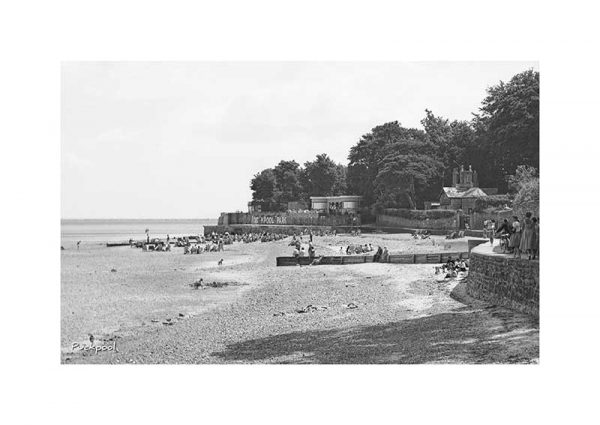 Vintage photograph Puckpool Ryde Isle Of Wight