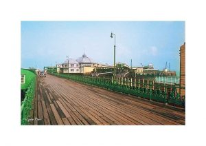 Vintage photograph Ryde Pier Isle Of Wight
