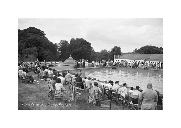 Vintage Photograph of Warners Holiday Camp Puckpool Isle Of Wight