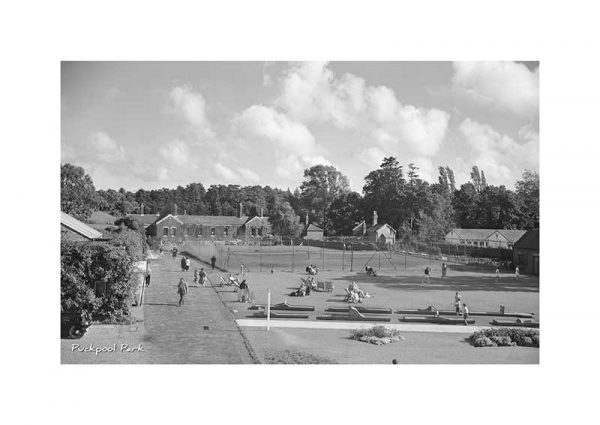 Vintage photograph Puckpool Park Ryde Isle Of Wight