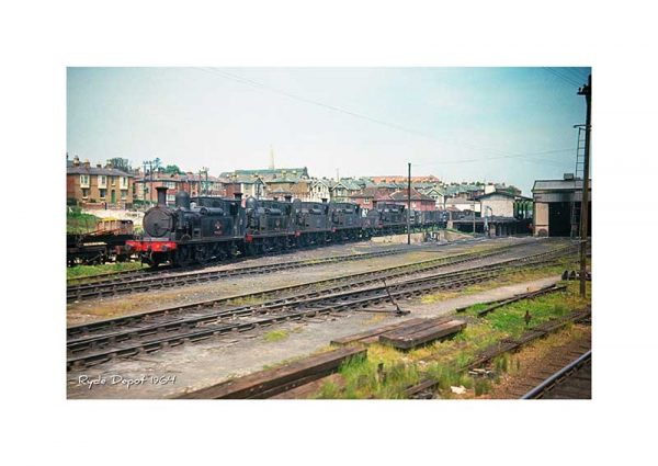 Vintage photography Ryde depot Isle Of Wight