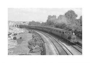 Vintage photograph Ryde St.johns Station Ryde Isle Of Wight