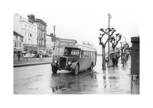 Vintage photograph Ryde Esplanade Isle Of Wight