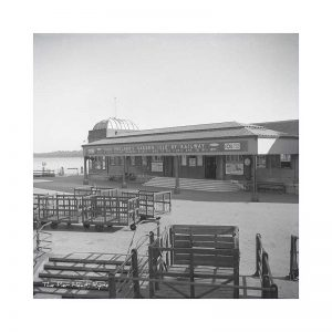 Vintage photograph Ryde Pier Head Isle Of Wight