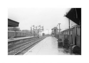 Vintage photograph Ryde St Johns Station Isle Of Wight