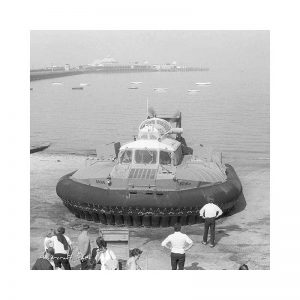 Vintage photograph Hovercraft Isle Of Wight