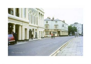 Vintage photograph The colonnade Ryde Isle Of Wight