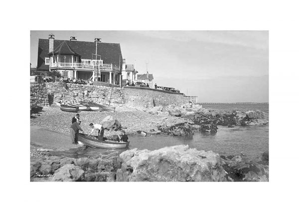 Vintage photograph Seaview Isle Of Wight