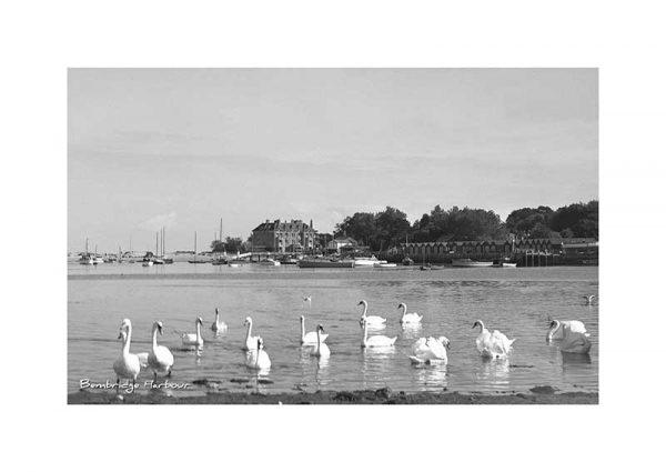 Vintage photograph of Bembridge Harbour Bembridge Isle Of Wight
