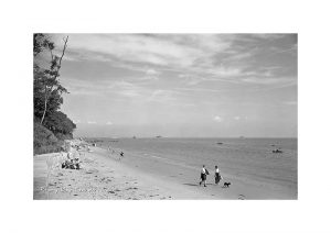 vintage photograph of Priory Bay Seaview Isle Of Wight