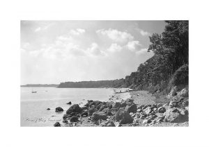 Vintage photograph Priory Bay Seaview Isle Of Wight