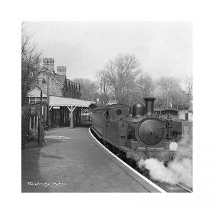 Vintage photograph Bembridge Station Isle Of Wight