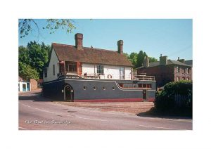 Vintage photograph Pilot Boat Inn Bembridge Isle Of Wight