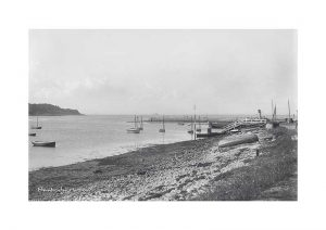 Vintage photograph Bembridge Harbour Isle Of Wight