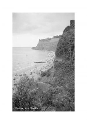 Vintage photograph Dunnose Head Shanklin Isle Of Wight