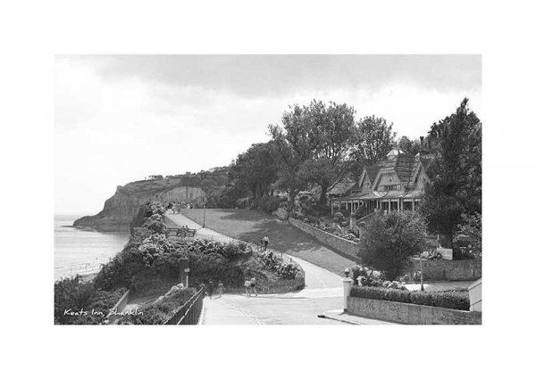 Vintage photograph Keats Inn Shanklin Isle Of Wight