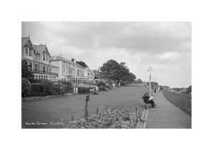 Vintage photograph Keats Green shanklin Isle Of Wight