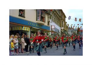Vintage photograph of Shanklin Carnival isle Of Wight