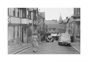 Vintage photograph Steephill road shanklin Isle Of Wight