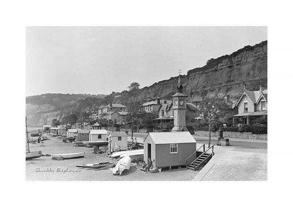 Vintage photograph Shanklin Esplanade Isle Of Wight
