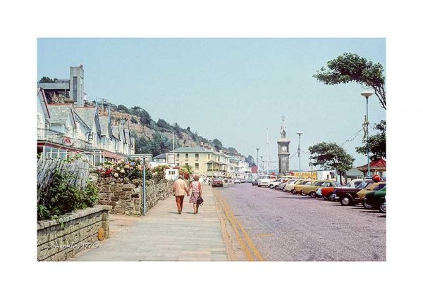 Vintage photograph Shanklin Isle Of Wight