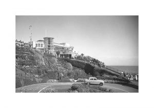 Vintage photograph of the Winter Gardens Ventnor Isle of Wight