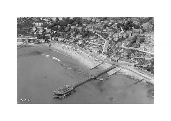 Vintage photograph Ventnor Isle Of Wight