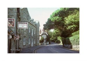 Vintage photograph St Lawrence Inn Ventnor Isle Of Wight