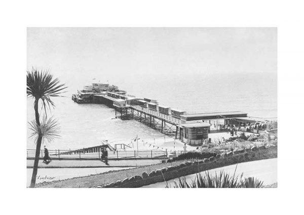 Vintage photograph Ventnor Pier Isle Of Wight