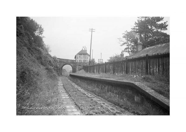 Vintage photograph St Lawrence Station Ventnor Isle Of Wight