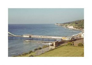 Vintage photograph Ventnor Pier Isle Of Wight