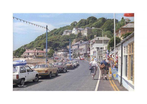 Vintage photograph Ventnor Isle Of Wight