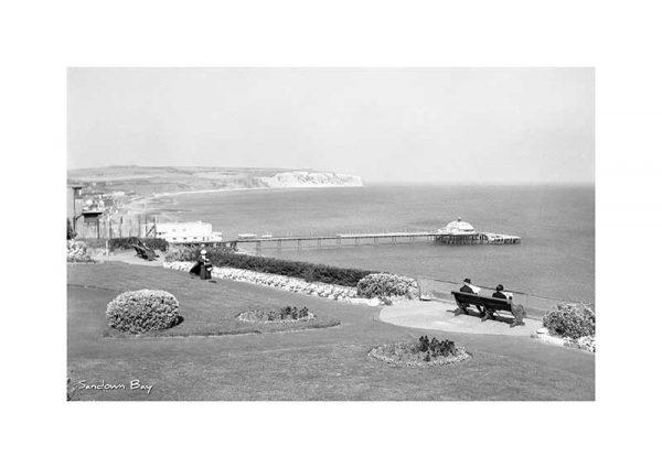 Vintage photograph Sandown Isle Of Wight