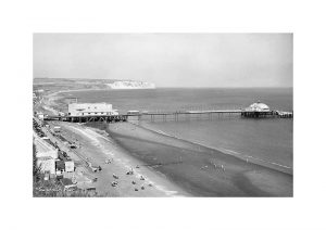 Vintage photograph Sandown pier Isle Of Wight