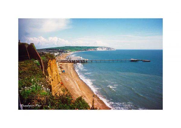 Vintage photograph Sandown Pier Isle Of Wight