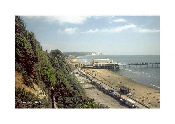 Vintage photograph Sandown Isle Of Wight