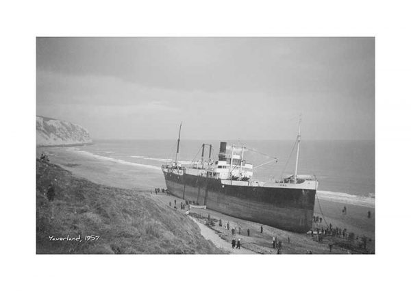 Vintage photograph Yaverland Isle Of Wight