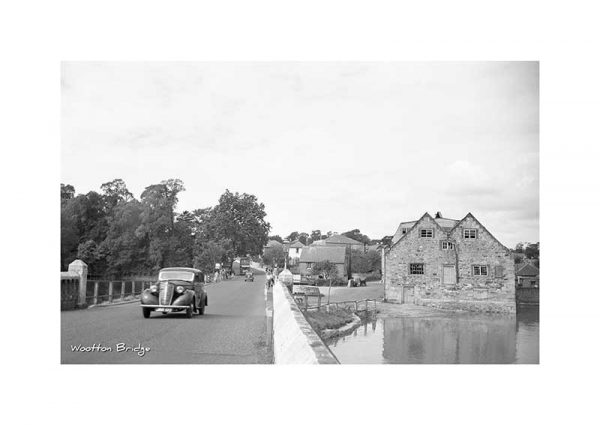 Vintage Photograph Wootton Bridge Isle Of wight